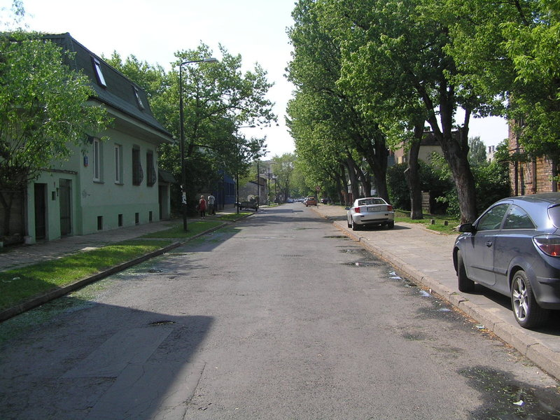 Ulica Sulejkowska wWarszawie