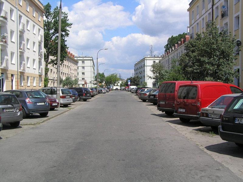 Ulica Mycielskiego na Grochowie