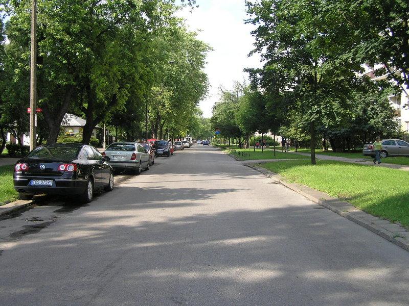 Ulica Wspólna Droga wWarszawie