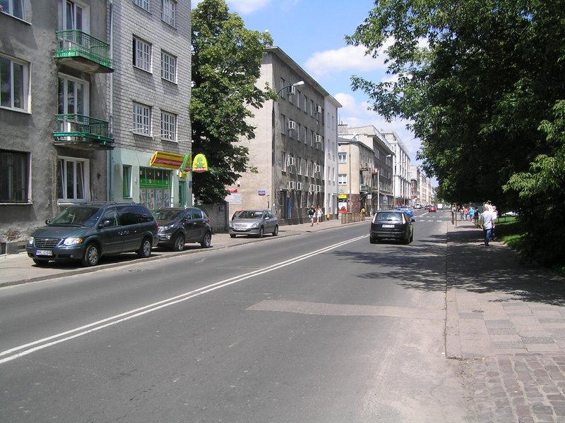 Ulica Wiatraczna wWarszawie
