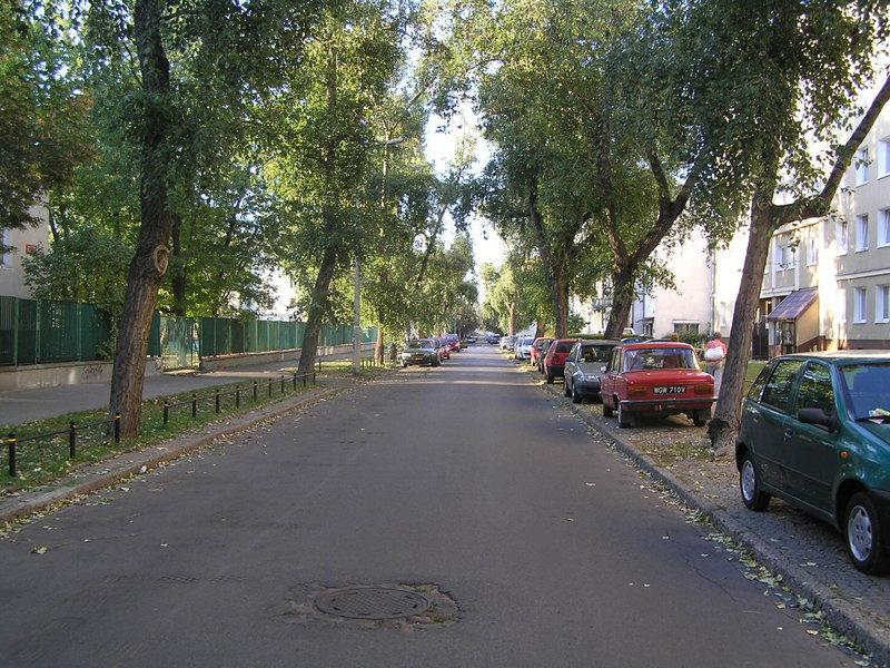 Ulica Siennica wWarszawie