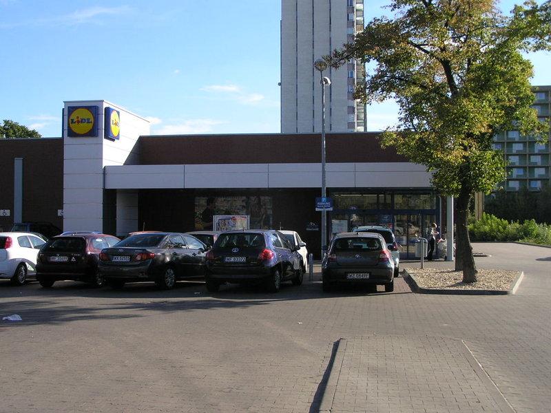 Grochowska 147 - sklep Lidl wWarszawie