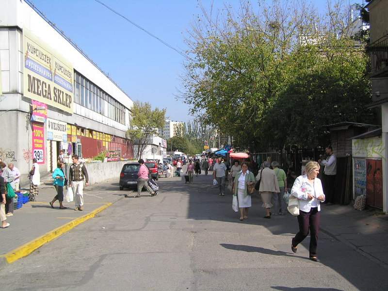 Ulica Męcińska wWarszawie