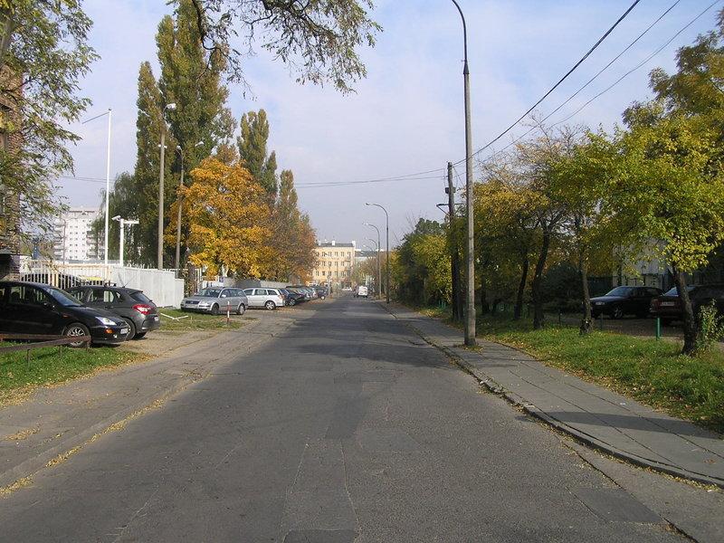 Ulica Omulewska wWarszawie