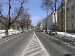 Ulica Podskarbińska wWarszawie
