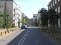 Ulica Modrzewiowa na Grochowie