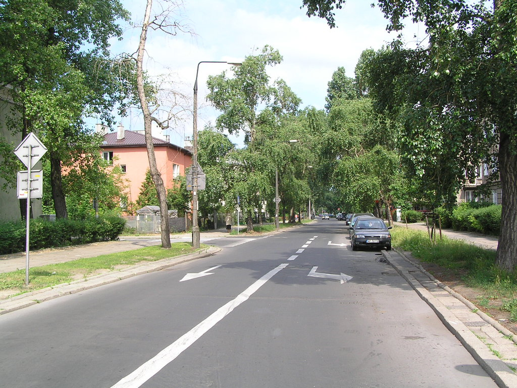 Ulica Międzyborska wWarszawie