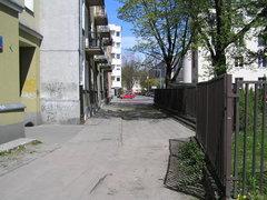 Ulica Rębkowska wWarszawie