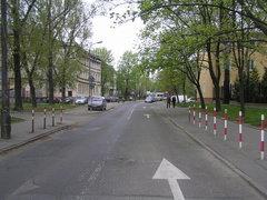 Ulica Cyraneczki wWarszawie