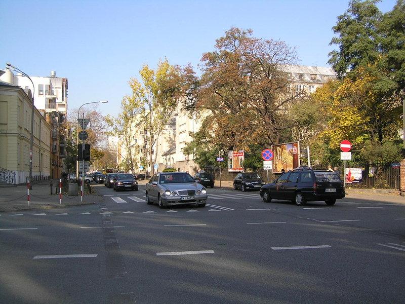 Ulica Jagiellońska wWarszawie