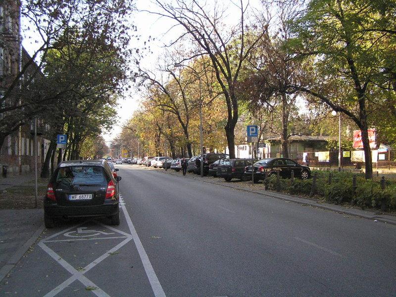Ulica Kłopotowskiego wWarszawie