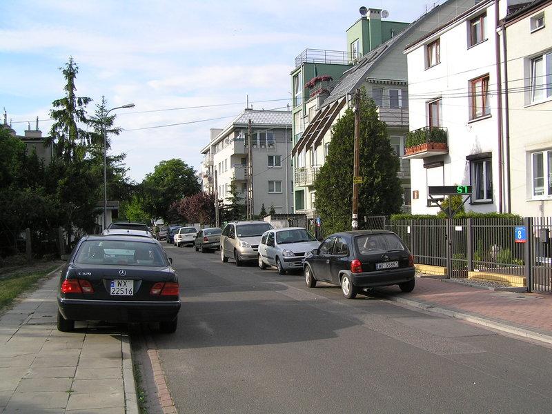 Ulica Liwiecka wWarszawie