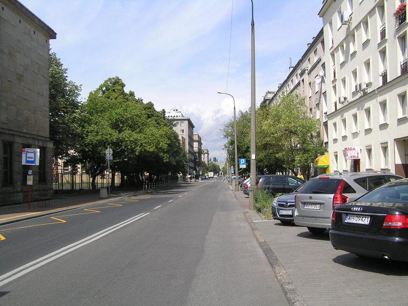 Ulica Dąbrowszczaków
