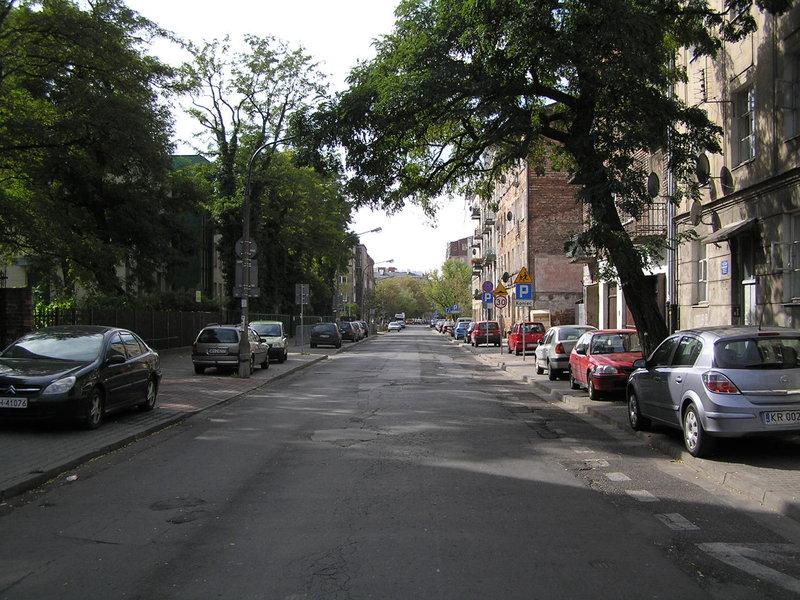 Ulica Kowieńska wWarszawie