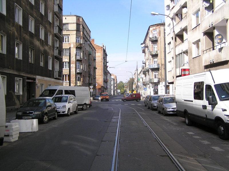 Ulica Środkowa wWarszawie