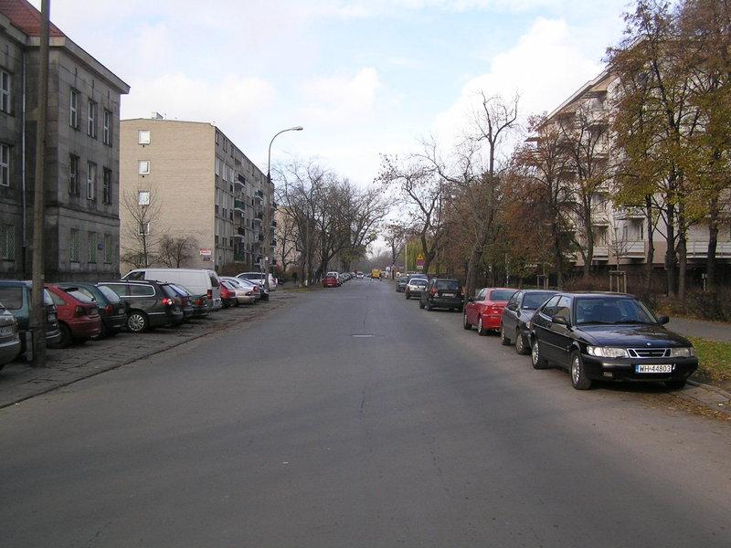 Ulica Namysłowska wWarszawie
