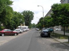 Ulica Józefa Szanajcy wWarszawie
