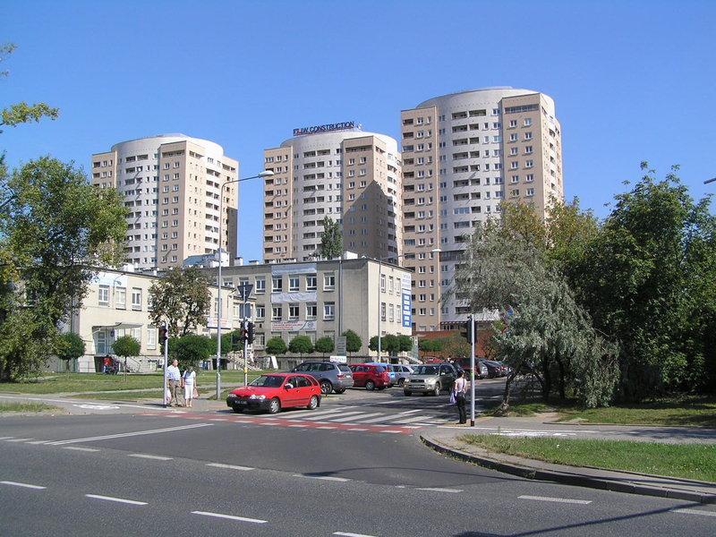 Ulica Osiedle Ostrobramska Trzy Wieże Praga Południe Warszawa