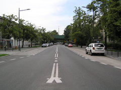 Ulica Paryska wWarszawie
