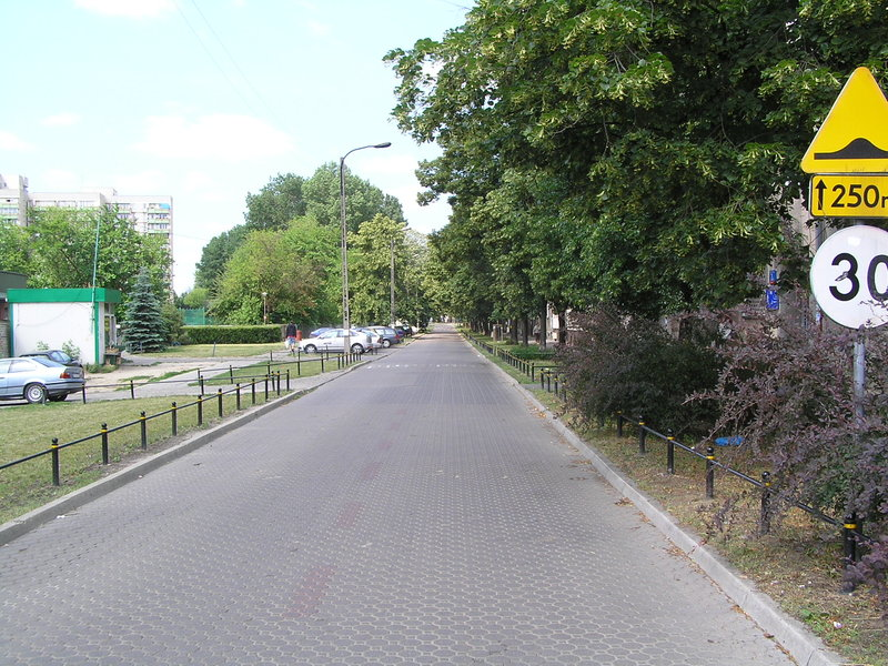 Ulica Stanisława wWarszawie
