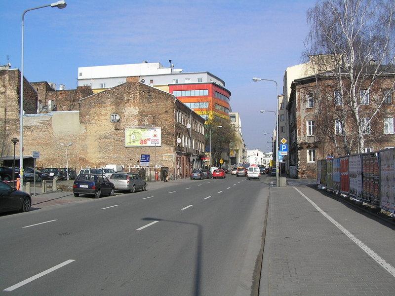 Ulica Okrzei wWarszawie