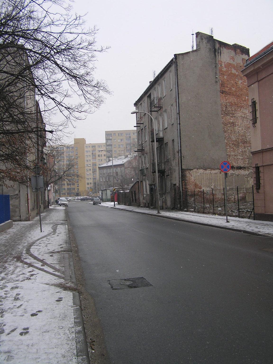 Ulica Grodzieńska wWarszawie