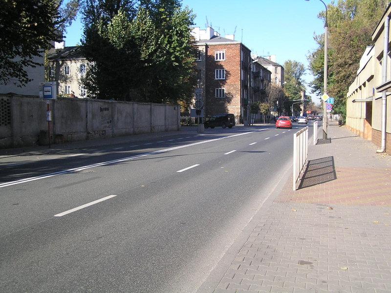 Ulica Szwedzka wWarszawie